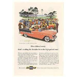 1955 Chevy Bel Air Convertible Car Show Print Ad