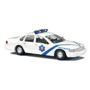 Busch HO (1/87) Arkansas State Police Chevy Caprice Toys & Games