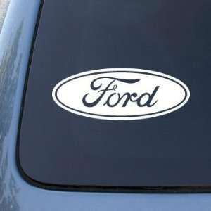 FORD   Vinyl Car Decal Sticker #1772  Vinyl Color White Automotive