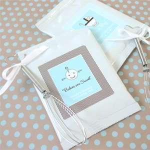 Hot Cocoa + Optional Heart Whisk   Baby Shower Gifts & Wedding Favors