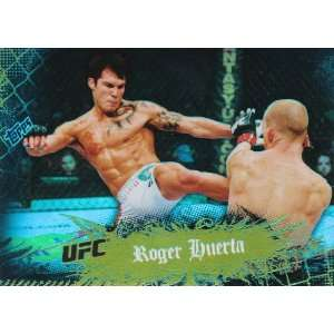 2010 Topps UFC Main Event Base Card Thick Stock Gold