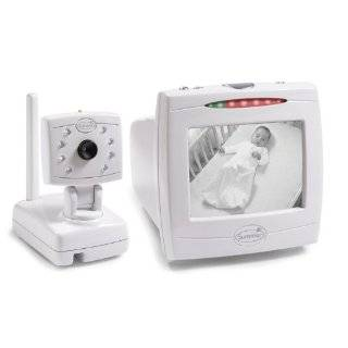 Summer Infant Babys Quiet Sounds Video Monitor with 5