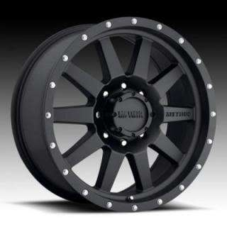 20 METHOD RACE WHEELS 2007   2012 TOYOTA TUNDRA 20X9 BLACK 5X150 NEW