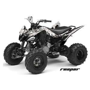 AMR Racing Yamaha Raptor 250 ATV Quad Graphic Kit   Reaper