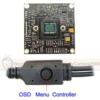 SONY Effio DSP, SONY CCD Color Board Camera, Multilingual, OSD Menu, 9