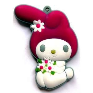 My Melody with Flowers Fridge Magnet ~ Sanrio Refrigerator Magnet