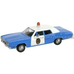 Scale Ready to Run 1970 Ford Custom Sedan   Sheriff Car Toys & Games