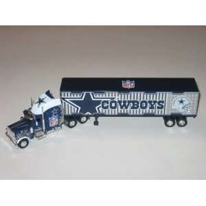 DALLAS COWBOYS Diecast 180 Scale Replica 05 Peterbilt Tractor Trailer
