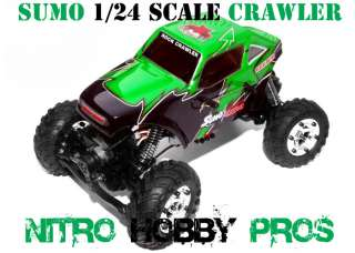 Redcat Sumo 1/24 Scale Electric RC Rock Crawler Truck