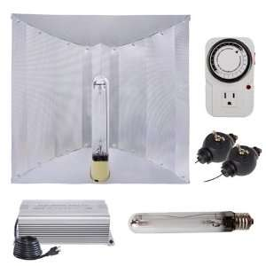 600 Watt HPS Grow Light Electronic Ballast Reflector Hood