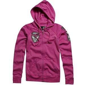 Fox Racing Womens Moto Doll Fox Zip Up Hoodie   Medium