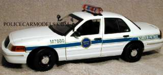 Motormax 1/18 US Border Patrol Police Ford Crown Vic