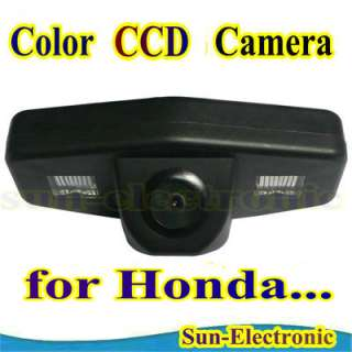 CCD Reverse Rear View Camera for Acura TSX / Honda Accord Pilot Civic