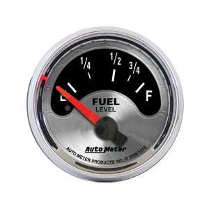 com Auto Meter 1215 American Muscle 2 1/16 Short Sweep Electric Fuel