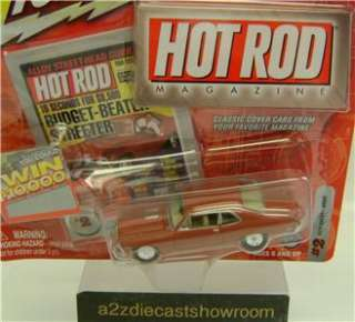 1969 CHEVY NOVA HOT ROD MAGAZINE JOHNNY LIGHTNING DIECAST 164