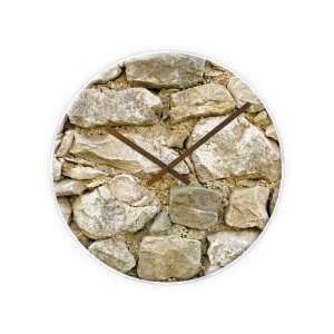 Karlsson Wall Clock Rock Glass