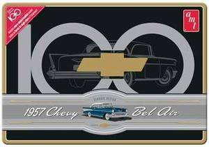 AMT 1/25 1957 Chevy Bel Air Chevy Centennial Program #AMT741