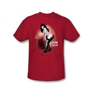 Bettie Page Lets Have Some Fun Pin Up Model Icon T Shirt Tee