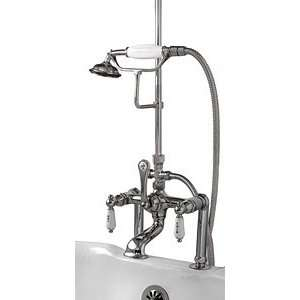 Polished Chrome Tub Shower Telephone Faucet RM22