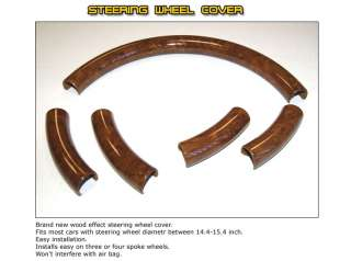 Jaguar X Type Wood Steering Wheel Cover Parts LL