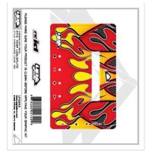 Graphics Kit, Flames Carbon Red LOSB9605 Charger UPG3413