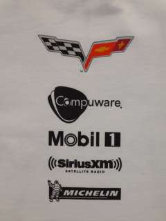 Chevrolet Corvette Racing C6 ZR 1 T shirt XL
