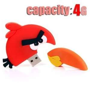 Endearing Angry Birds Design 4GB USB Flash Drive Flash
