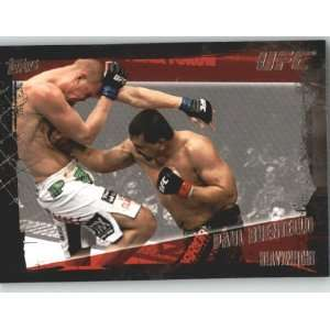 2010 Topps UFC Trading Card # 99 Paul Buentello (Ultimate