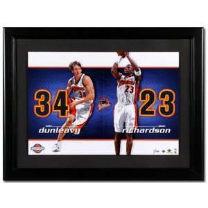 Jason Richardson and Mike Dunleavy Golden State Warriors