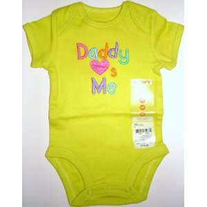 Nb Newborn Carters Girls Onesie Bodysuit Daddy Loves Me