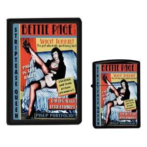 Bettie Page Cigarette Case and Lighter Set Toys & Games