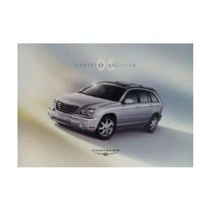2005 CHRYSLER PACIFICA Sales Brochure Literature Book
