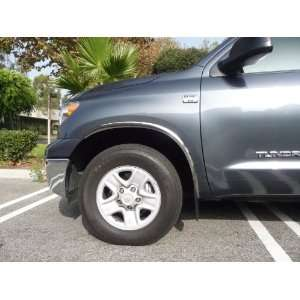 Toyota Tundra Truck 2007   2010 Fender Trim Molding Valutrim Polished