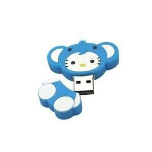 8GB Little Elephant Shaped Cartoon USB Flash Drive Deep