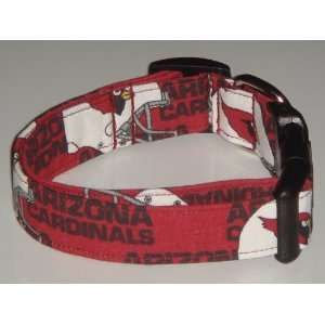 Arizona Cardinals Football Dog Collar Red Small 1