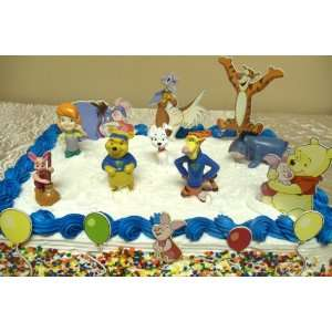 Winnie the Pooh and Friends 15 Piece Birthday Cake Set