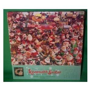 Santas Collection 500 Piece Jigsaw Puzzle with Collectible Ornament