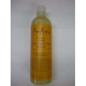 Shea Moisture Organic Raw Shea Butter Wash Beauty