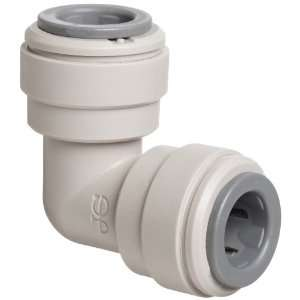 John Guest Acetal Copolymer Tube Fitting, Union Elbow, 3/8 Tube OD