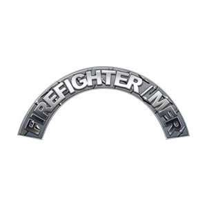 Firefighter MFR Diamond Plate Firefighter Fire Helmet Arcs