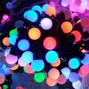 color RGB 50 led Christmas/decoration String Lights (5 meter/220v Ac