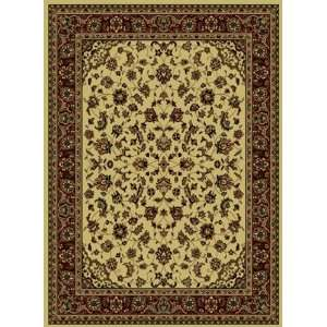 Collection Ivory Traditional Rug With Border 5.30.