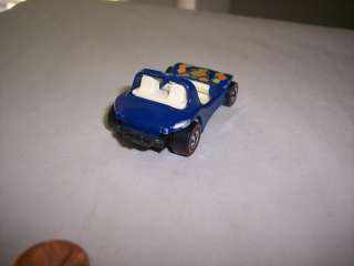 1969 Hot Wheels Redline Blue Spectraflame Daddy Dune Buggy Car