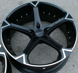 GIOVANNA DALAR 5V 22 BLACK RIMS WHEELS MAXIMA STAG