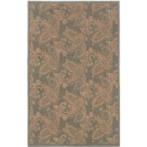 OW Sphinx Ariana Blue / Gold Rug Paisley Transitional 67