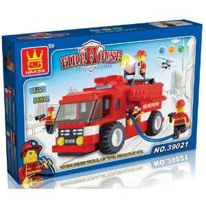 FIRE HOUSE   FIRE FIGHTING SERIES   BUILDING BLOCKS 180 pcs set LEGO