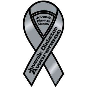 Juvenile Diabetes Awareness Ribbon Magnet