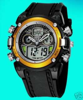 New OHSEN Mens Analog Digital Quartz Gift Wrist Watch