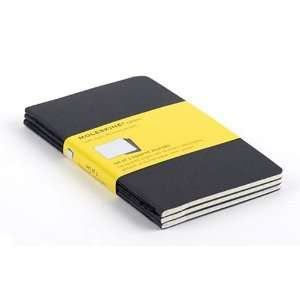 Moleskine Large Black Soft Cover Squared Cahier Journal