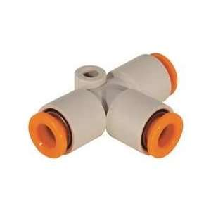 Union Tee,8mm,tube,polybutylene   SMC  Industrial